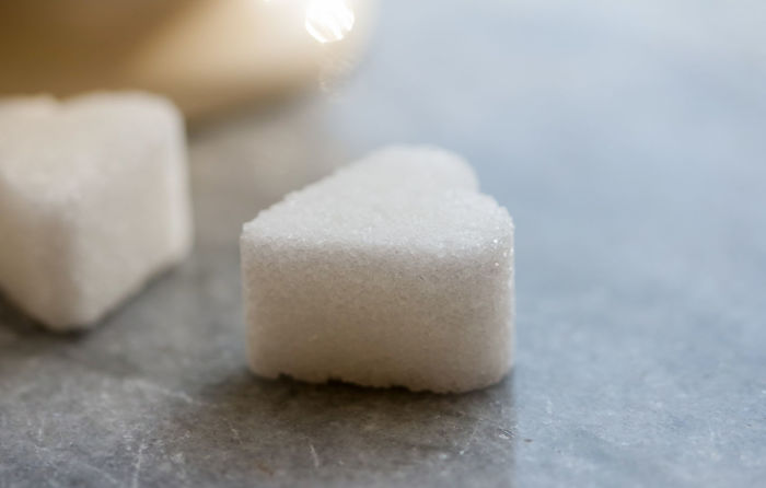 Close-up Focus On Foreground Food Food And Drink Freshness Heart Shape Indoors  Macro Beauty Marble Stone Non-alcoholic Beverage Purity Ready-to-eat Sugar Sugar Hearts Surface Level Sweet Sugar