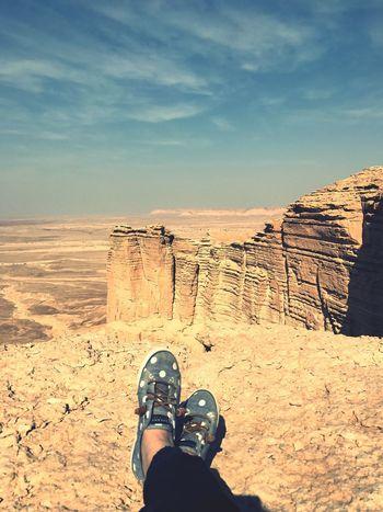 Set foot on the edge! The Photojournalist - 2017 EyeEm Awards Rock - Object Desert