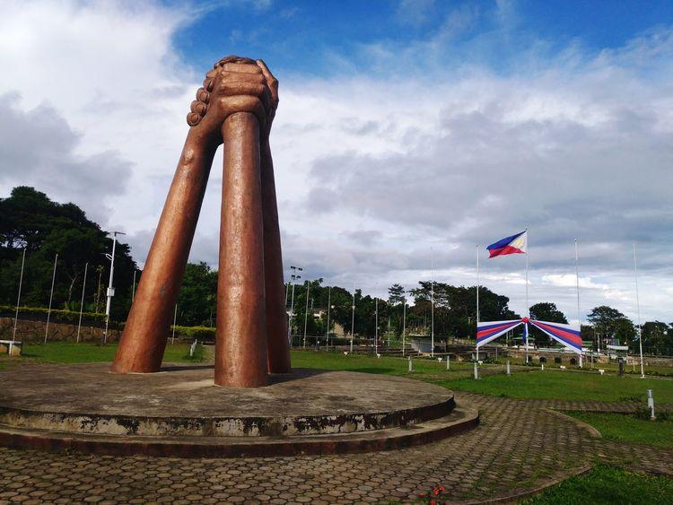 Unity Park EyeEm Selects Flag Sky Cloud - Sky Flying No People Tree Outdoors Day PagadianCity Zamboanga Del Sur