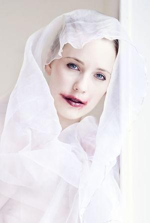 Lips Natural Beauty White Portrait