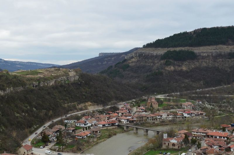 Travel Veliko Tarnovo VelikoTarnovo Architecture Beauty In Nature Building Building Exterior Built Structure Bulgaria City Cloud - Sky Day Environment High Angle View Landscape Mountain Nature No People Outdoors Plant Residential District Scenics - Nature Sky Tsarevets Water