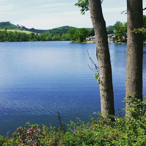 My secret spot Sorpesee Sorpetal Sorpetalsperre Lake Summer Nature Sun Germany Sundern  Sauerland