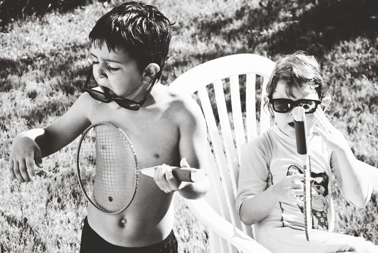 People Portrait Children Summer
