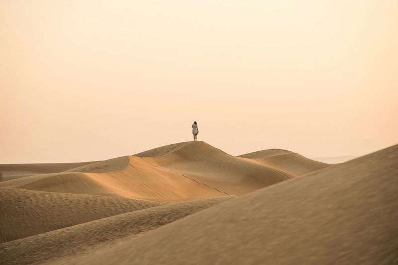 Deserts Around The World Dubai Done That. Lost In The Landscape