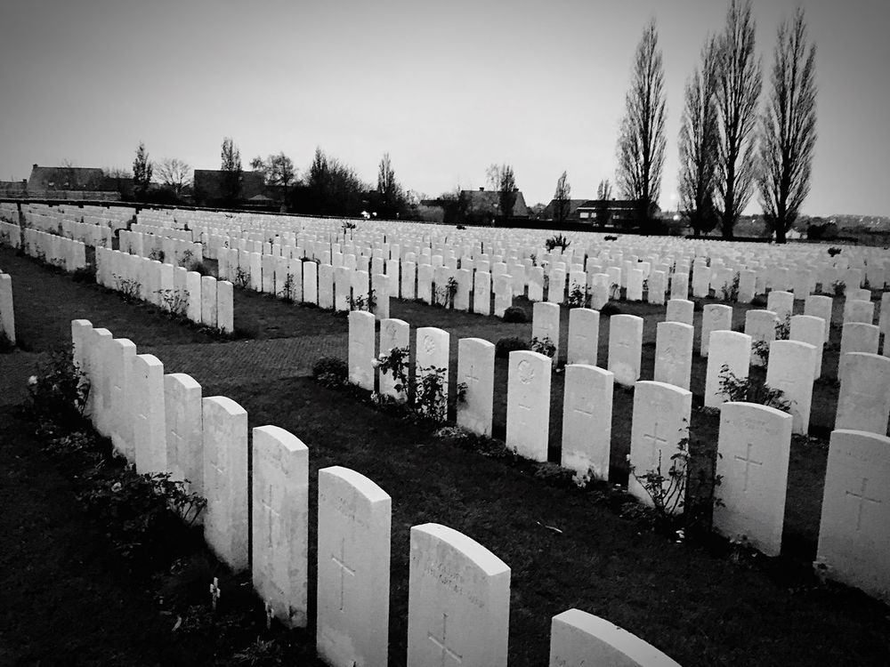 Tyne Cot Cemetery, Belgium. Rest In Peace Paying My Respects Britain Graveyard