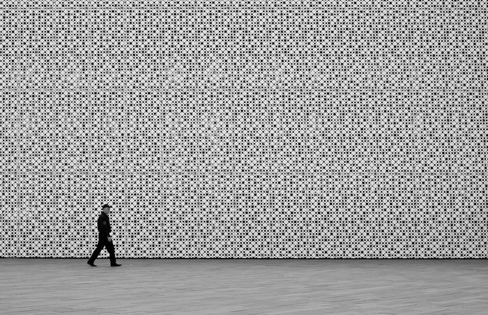 Pattern One Person One Man Only Day Streetphotography City Patterns Everywhere Building Exterior