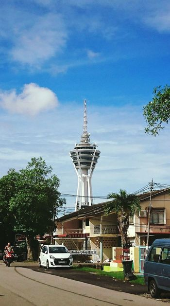 CityscapeBuilding Exterior At Alor Setar Malaysia Palm Tree