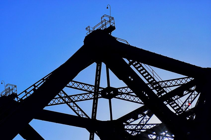 Indusrty Industrial Industrial Landscapes Structure Metal Bridge Ironwork  Iron