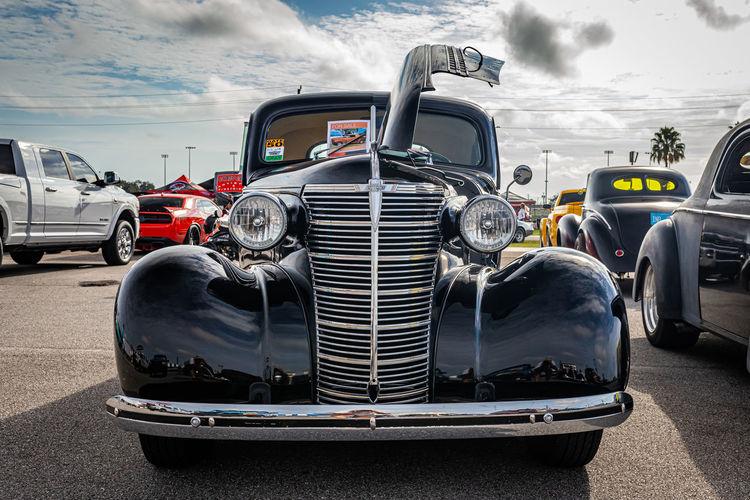 View of vintage car