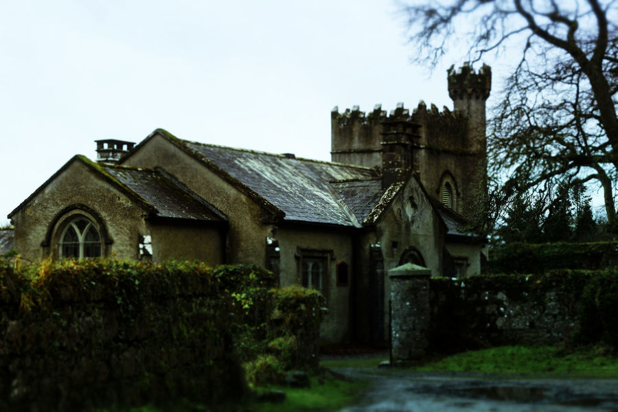 Architecture Building Exterior Built Structure Celbridge Church Depth Of Field Exterior Historic History House Ireland Old Outdoors Place Of Worship Religion Residential Structure Roof Ruined Selective Focus Spirituality