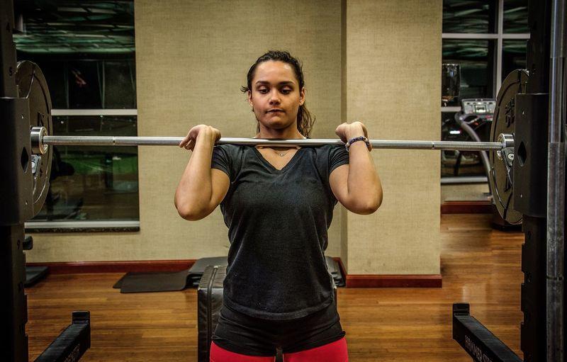 The Portraitist - 2017 EyeEm Awards Weight Training  Exercising Gym Sport Sports Training Self Improvement