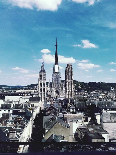 In Rouen Cathedral Travel Destinations Architecture Building Exterior City Cityscape EyeEmNewHere