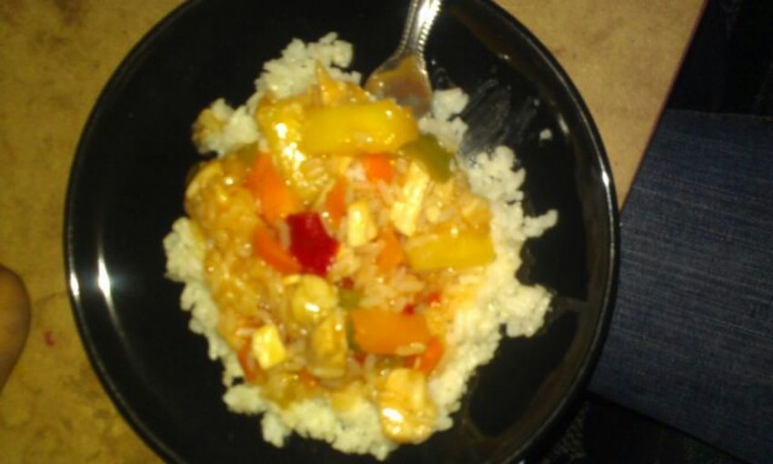 At Home Food Crushed Sweet & Sour Chicken