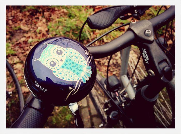 nicht meine fahrradklingel... schade :/ Fahrrad Eule