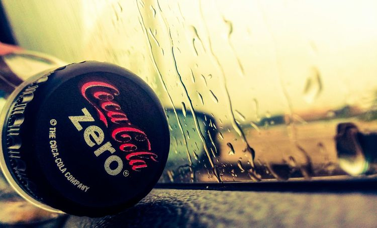 COKE for the road. Rainy Day On The Road The View From My Window Road Trip Phone Photography Cocacolazero Coca-cola The Moment - 2015 EyeEm Awards Taking Photos Popular Photos