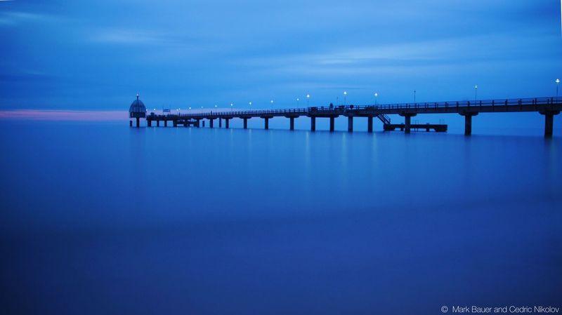 Blue Blue Sea Open Edit The Week On EyeEm Zinnowitz Ostsee Seabridge Blue Sky