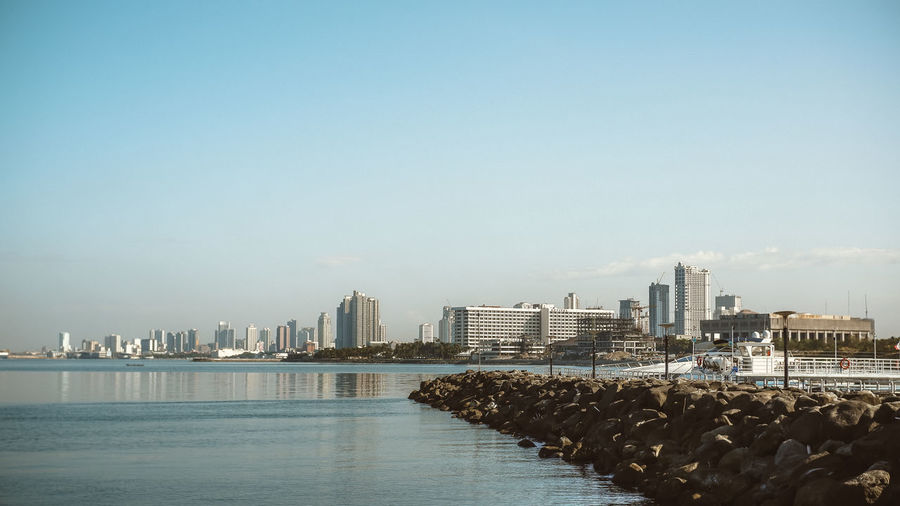 Sea side City
