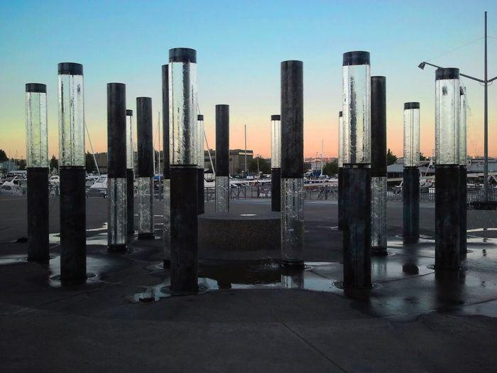 Glass Stonehenge. Tacoma Museum of Glass, Tacoma Washington. Pacific Northwest  Abstract Art Fresh On Eyeem  Tacoma Museum