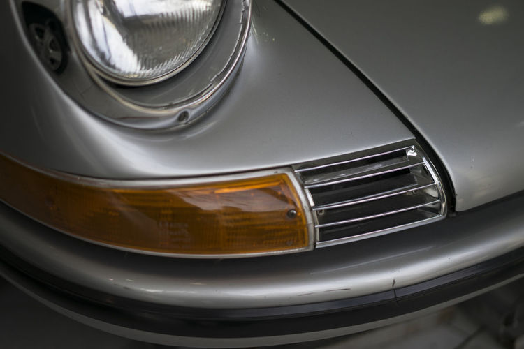 Headlight Detail Bumper Car Close Up Close-up Clouds And Sky Expensive Full Frame Headlight Hood Luxury Metal Reflector Russia Silver  Transportation Traveling Turn Signal