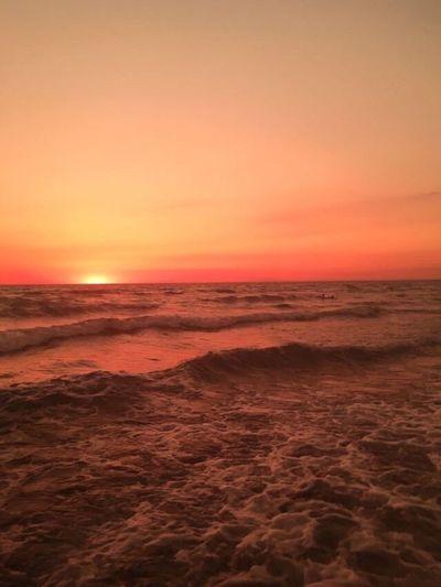 Nature Sea Sunset
