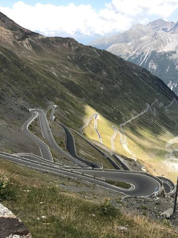 Road Winding Road Windy Road Transportation Mountain Road Car High Angle View Beauty In Nature Winding Road