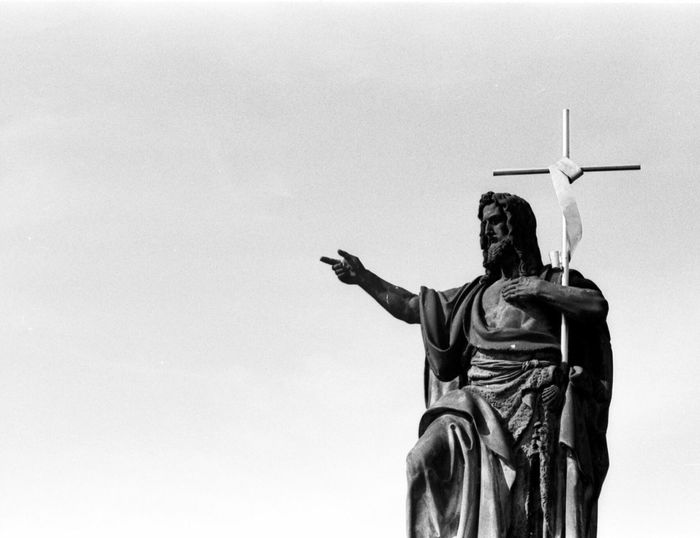 Statue of john baptist