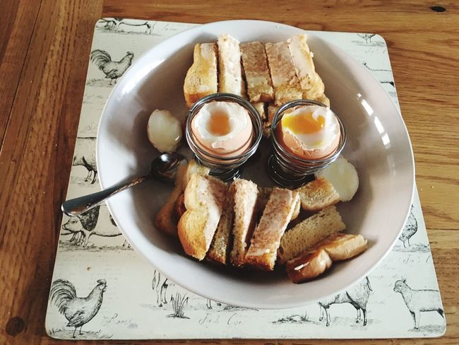 Dippy eggs and soldiers Eggs Breakfast Food ShareTheMeal