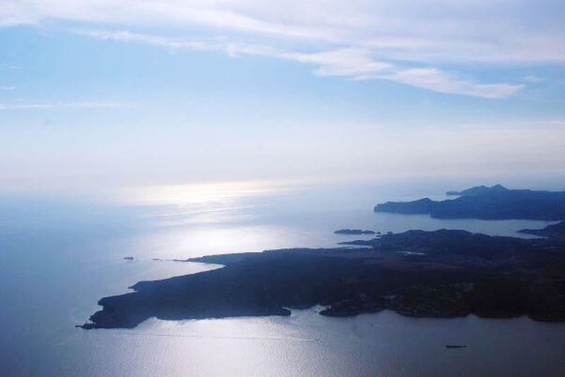 This was taken out of the plane, over Majorca. Majorca EyeEm 2015 The Great Outdoors - 2015 EyeEm Awards The EyeEm Facebook Cover Challenge Sea View