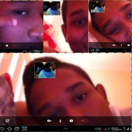 Hii elmo de dios hahaha Skype Highschoolfriend