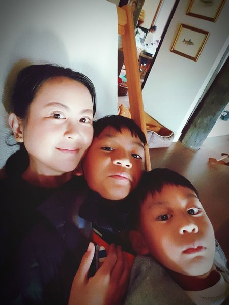 My Sons Portrait Males  Childhood Togetherness Child Men Looking At Camera Son Father Baby