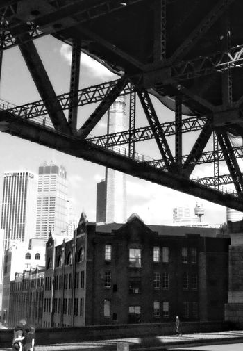 Under the bridge Architecture Architecture_collection Streetphotography People And Places Sydney