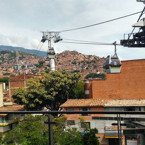 MetroCable Station Spring City Cityview Medellin City