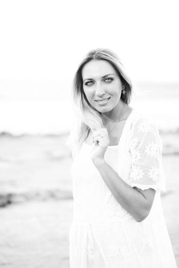 Portrait One Person Beautiful People Only Women People Beauty Beach One Woman Only Bride Young Women Beautiful Woman Looking At Camera Women One Young Woman Only Sand Wedding Dress Standing Odessa,Ukraine Odessafoto Odessagram одесса Одесса-мама