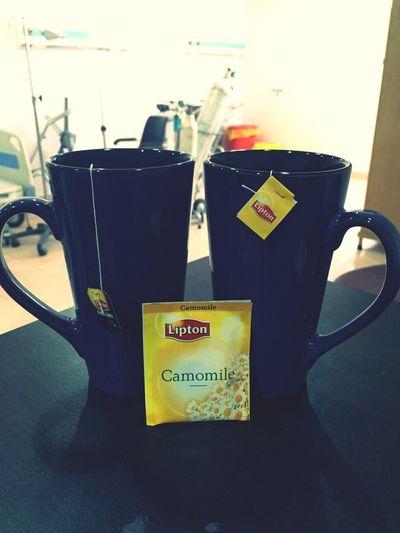 Tea after breakfast??? Camomile Tea Tea