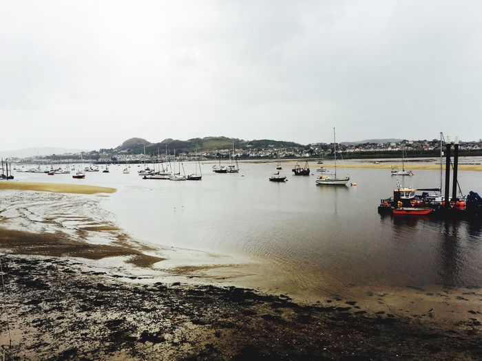 Conwy Conwy Harbour Wales❤ North Wales Traveling Travelling Photography Part Time Traveller Lovetravelling Iloveboats