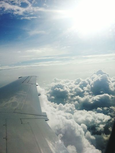 Up up and awaaaay! Sky Clouds Brasília Brasil Brazil World Cup Brazil 2014 World Cup DOPE Taking Photos Enjoying Life