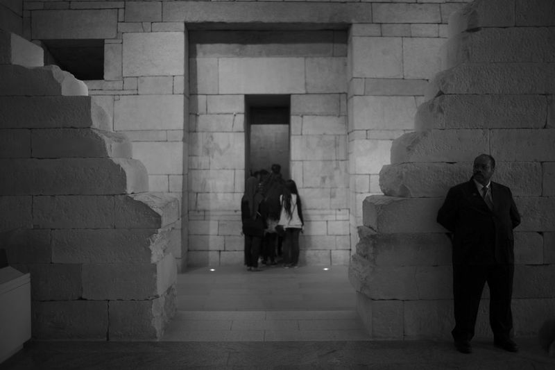 Security guard at The Met First Eyeem Photo Real People Museum The Metropolitan Museum Of Art
