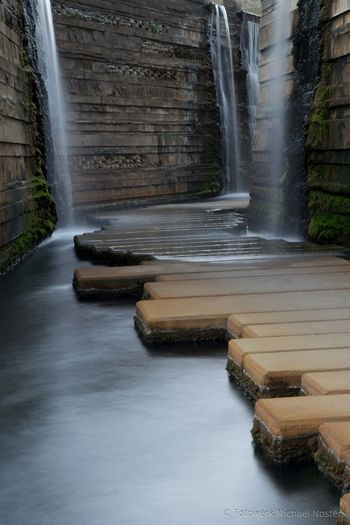 Water Waterfall Motion Long Exposure Nature Outdoors No People