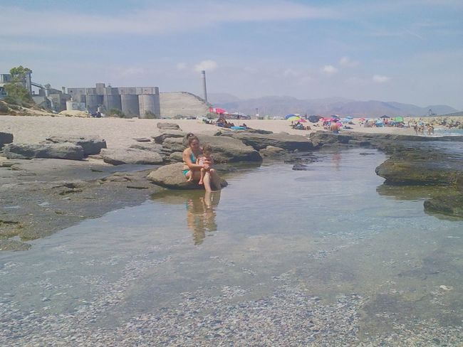 Playa Nature Almería Carboneras Funny Moments Relaxing Spain Is Different Water_collection The Human Condition Escaping