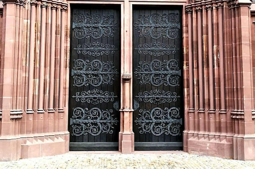 Door Arch Building Exterior Architecture Built Structure Entrance No People Outdoors Religion Day Toc Toc Square Basel, Switzerland