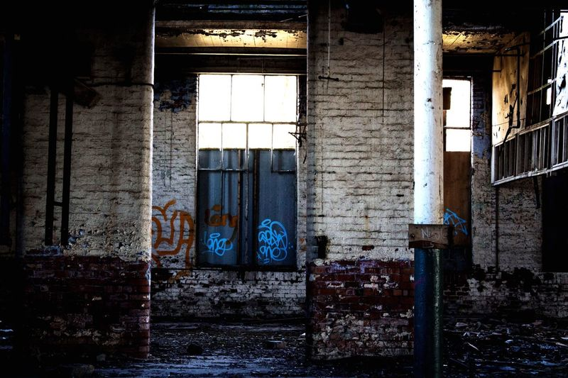 Window Abandoned Built Structure Architecture No People Bad Condition Indoors  Day