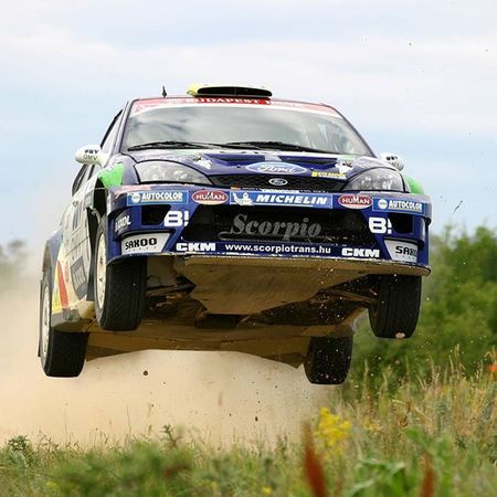 How about some action? Balázs Benik, former Hungarian rally champion EEprojects Rally Autosport Motorsport Wrc Fordfocus Jump Traction Speed Flying Dust Car Sportscar Snapzone Driving Drivingfast Pushtothelimit Control Track CarService Service Racing Brave Offroad Dakar racewhatsyourweaponheatercentraleatmydustrallyhd