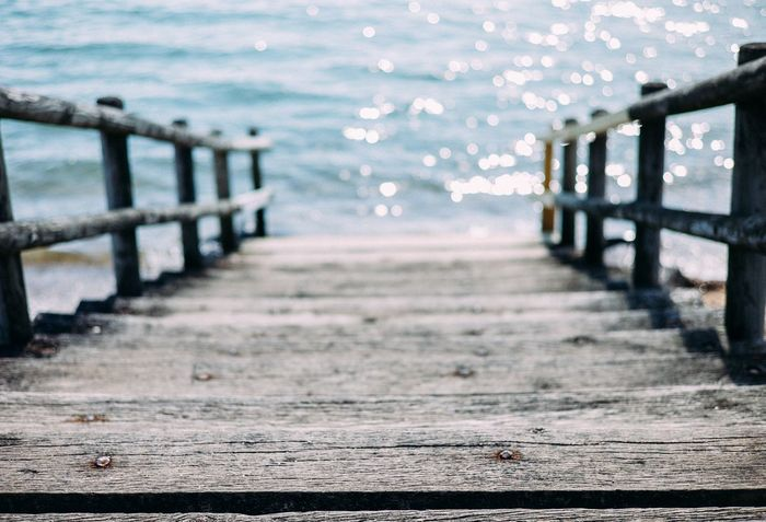 Steps to the sea Landscape Seaside Sea Light Popular Photos EyeEm Best Shots Light And Shadow Water Edge Of The World Protecting Where We Play Macro Beauty