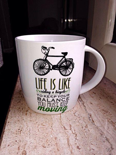 Tazza colazione L'aggiusta Biciclette Messlife Bici Bike Life