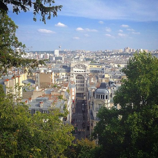 France Paris Basilic Sacrecoeur Sunnyday