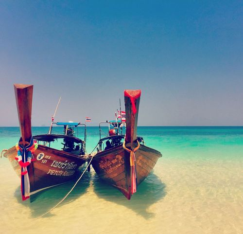 Ocean Boat Koh Phiphi Thailand IPhoneography Ban Ao Nang Showcase March