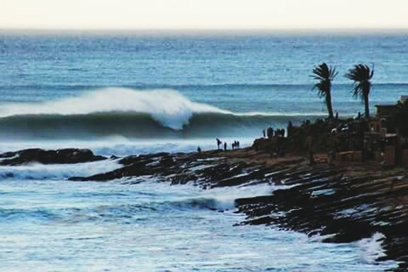Big Waves Today Taking Photos Relaxing Check This Out Awesome Taghazout Anka Point