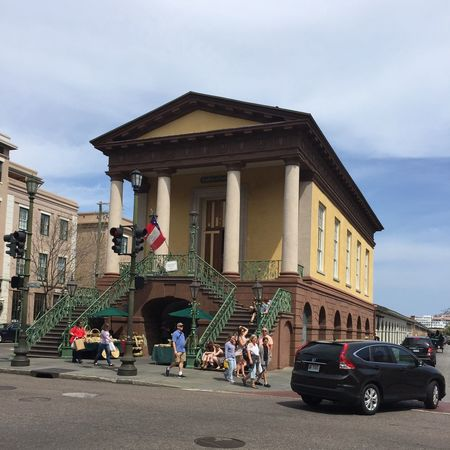 Charleston Building Built Structure Architecture Building Exterior Real People Car Sky Transportation City Land Vehicle Women Day Outdoors