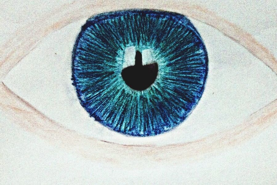 Another eye drawing NotDoneYet Eye ColoredEye Drawing