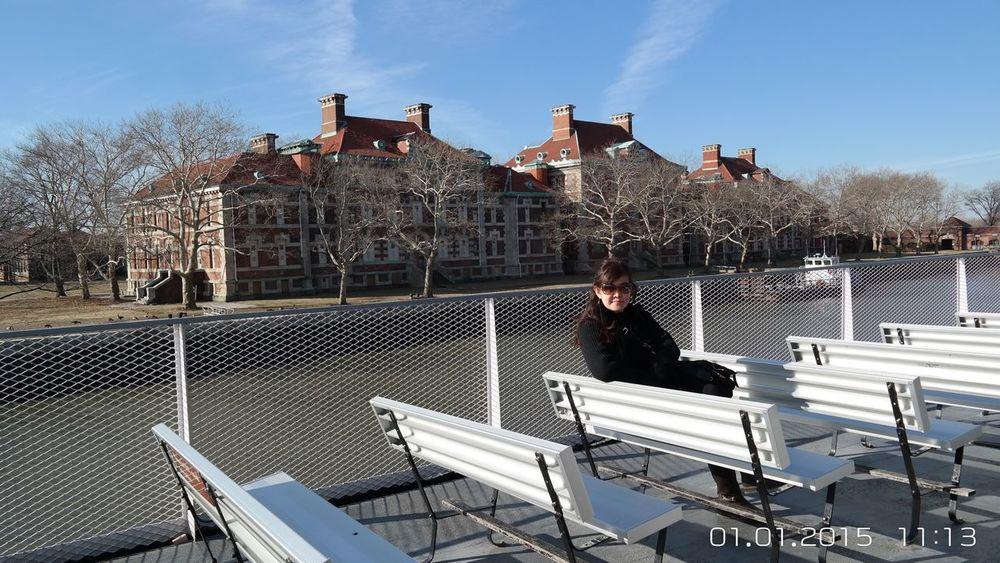 Beautiful scenery in Ellis Island_NYC Traveling Ellis Island  New York City Beautiful Beautiful Place Visiting